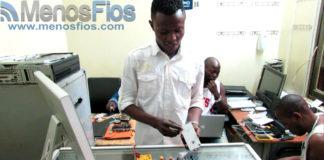 MenosFios no mercado dos Congoleses