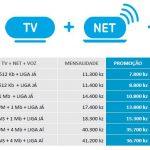Plano de TV+Internet+Voz da TVCabo Angola