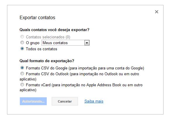 Google Contactos 2
