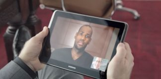 Lebron James e Samsung