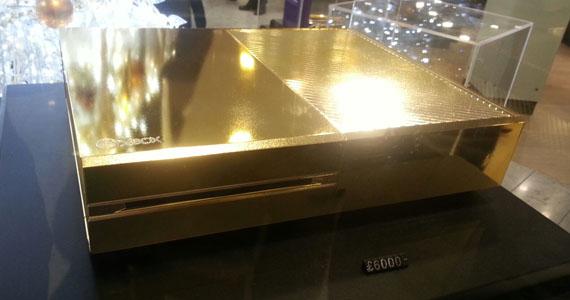 Golden-Xbox-One