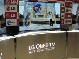 Presentation of LG Curved OLED TV in Angola
