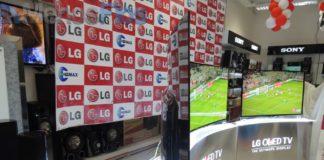 Apresentação da LG Curved OLED TV em Angola