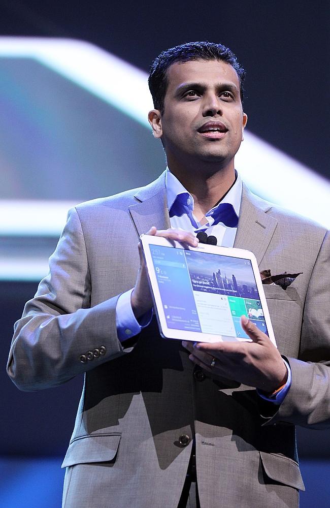Nanda Ramachandran, Samsung Electronics, Consumer Electronics Show, CES, Galaxy Tab Pro tablet
