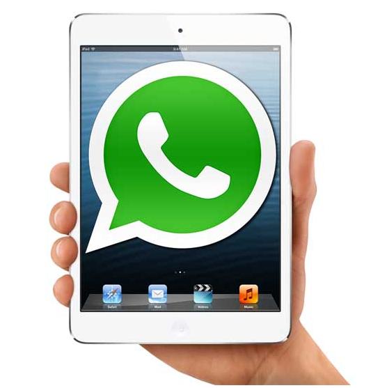 iPad Mini With Whatsapp