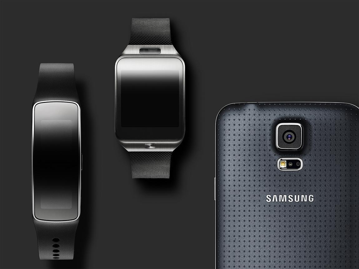 Galaxy S5, Gear 2, Gear fit