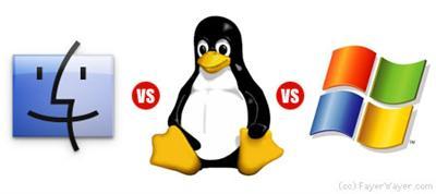 Windows Vs Linux Vs OSX