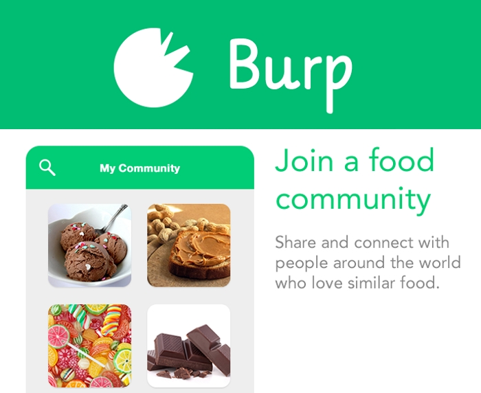 Burp-Food-Community-App | Less wires