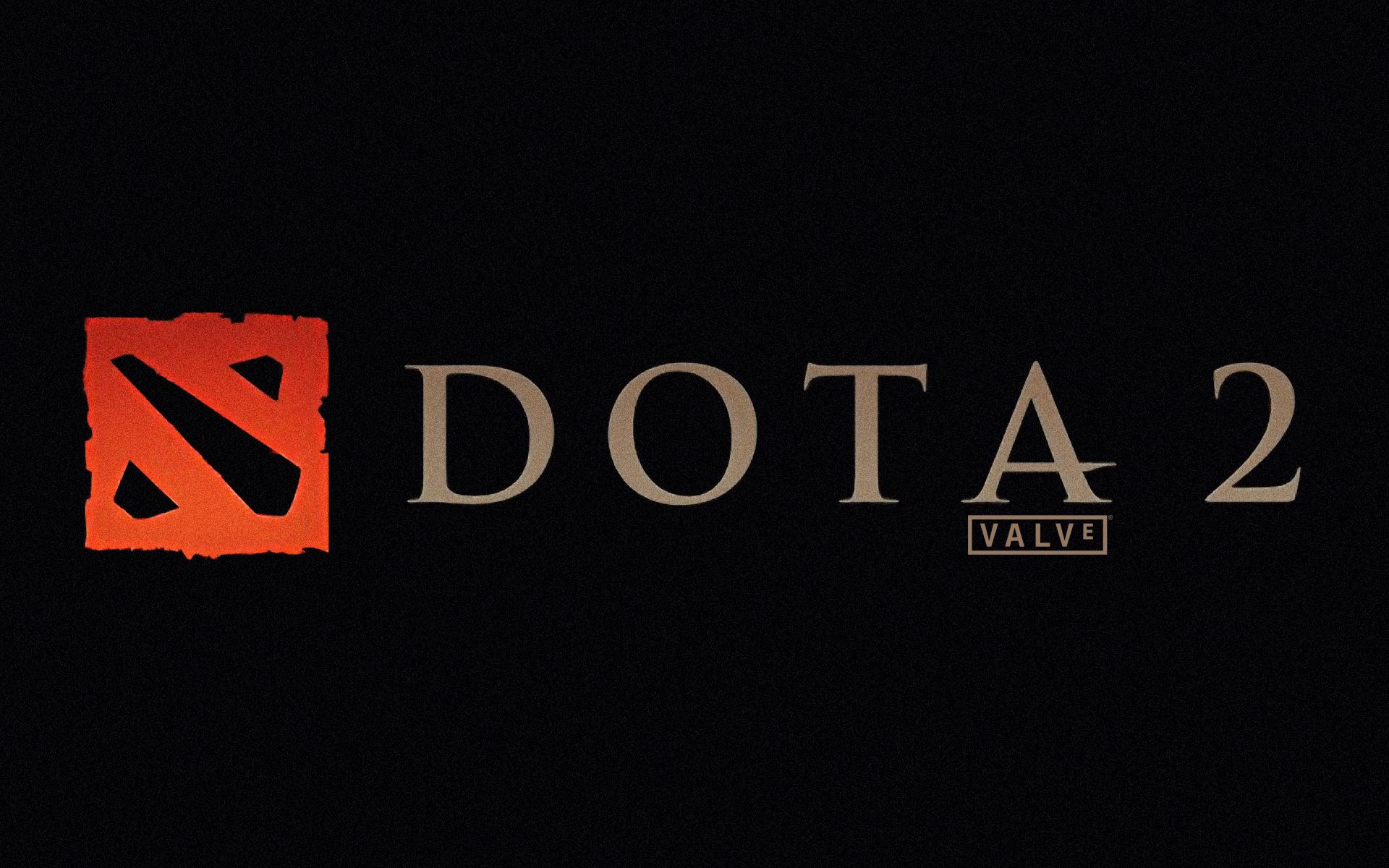 Do 2 Dota 2 Logo Hd Wallpapers Games Picture Wallpaper Dota 2 Less