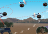 How does a Drones network work?