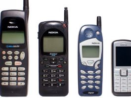 Evolution of Nokia mobile phones