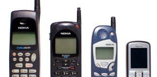 Evolution of Nokia mobile phones