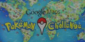 Google Maps, Pokémon Challenge