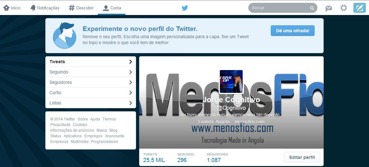 Novo Twitter