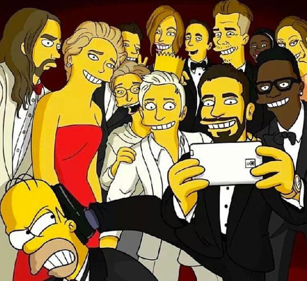 Selfie Simpsons