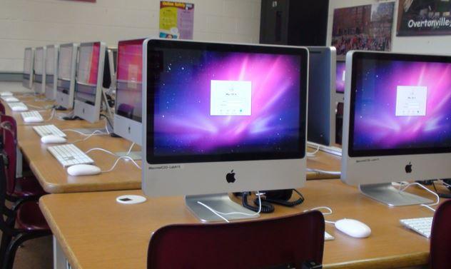 Tente substituir todos computadores da empresa por iMacs e verá...