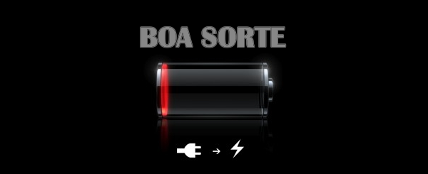bateria fraca
