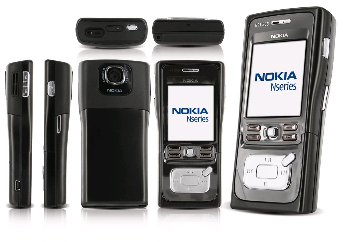 10. Nokia N91