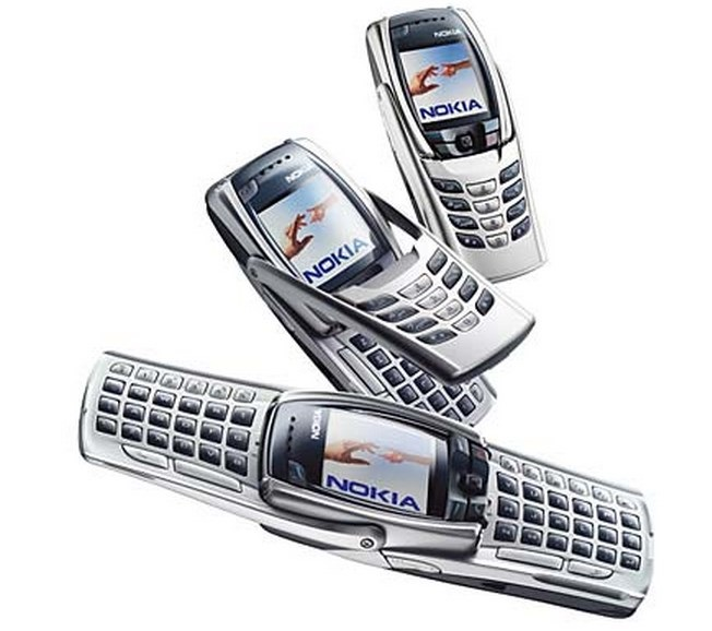2. Nokia E70, 6822, 6820, 6810, 6800