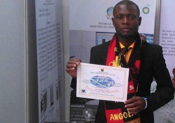 Inácio Simão - Inventor Angolano