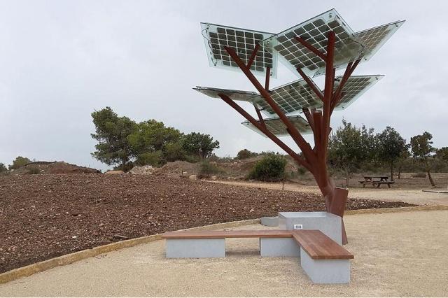 """Árvore Solar """"eTree"""""""