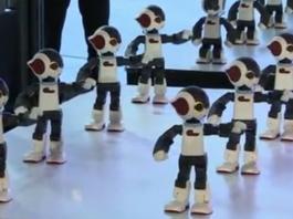 Projecto de Robos dancarinos