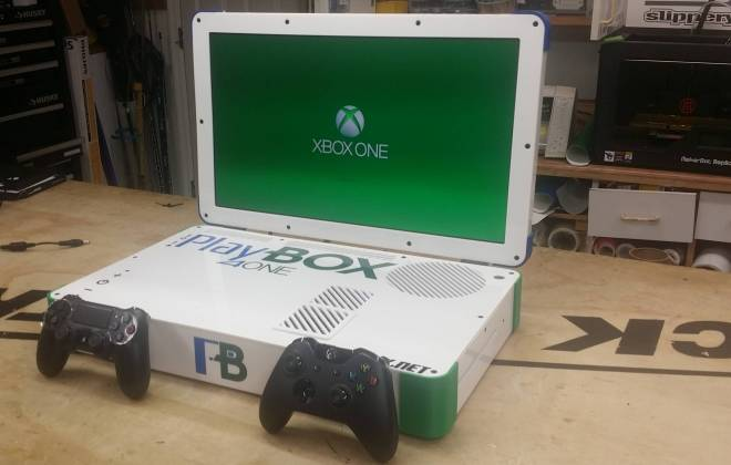 PlayBox, a junção da PS4 e Xbox One