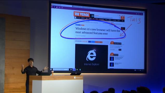 Apresentação do Spartan, o substituto do Internet Explorer
