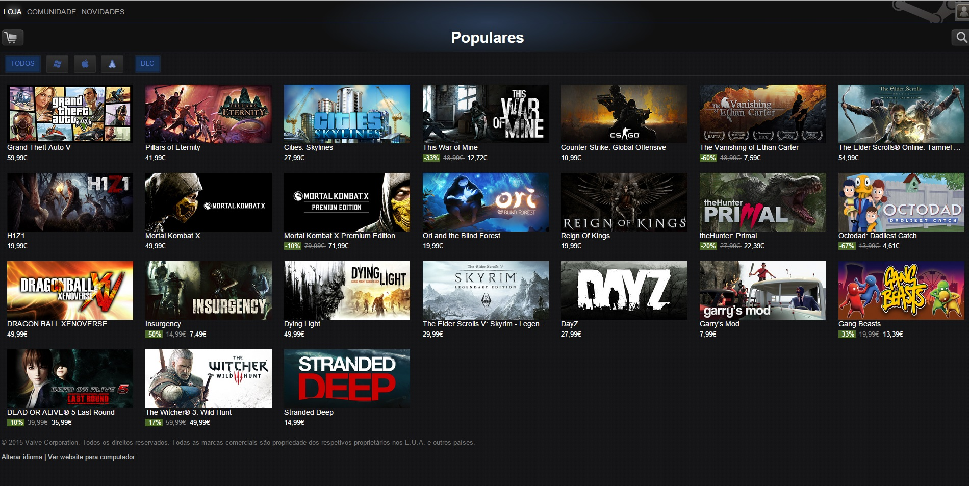 Steam offers up to 50 games this weekend