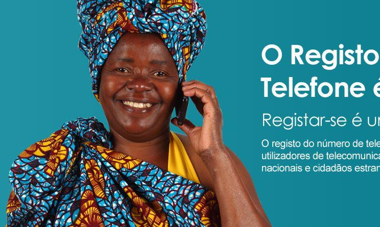 Registo Telefone Angola