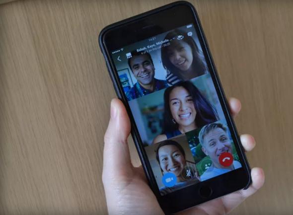 Skype Video Group Call