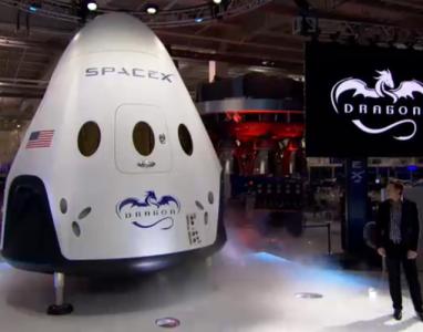 Space X promete enviar uma nave para Marte em 2018