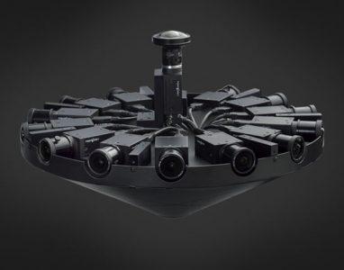 É exibido o primeiro vídeo com a câmara 360º do Facebook