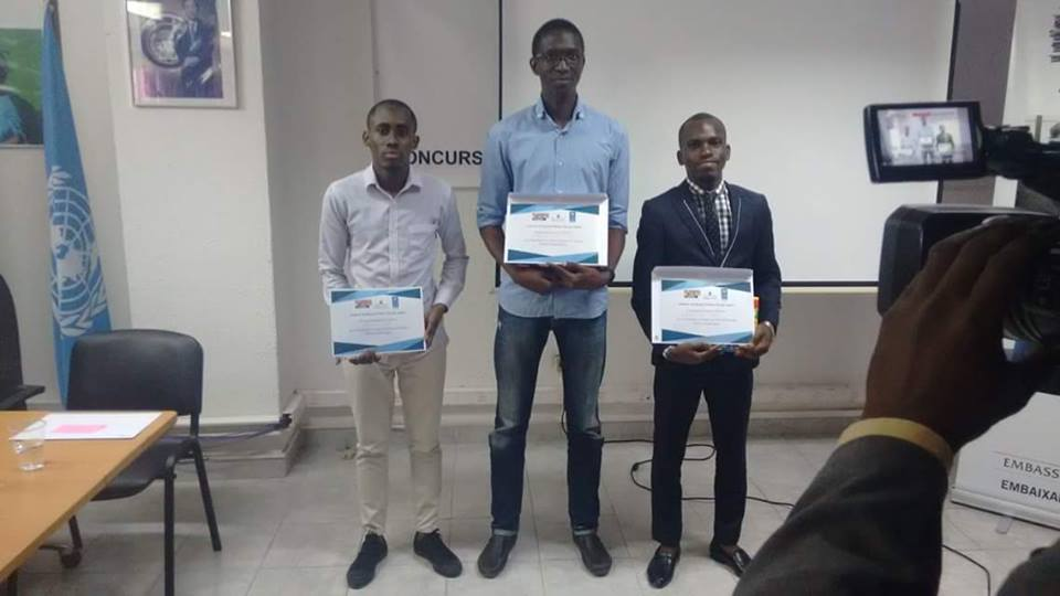Vencedores do concurso PrimeiraGeraçãoAngola
