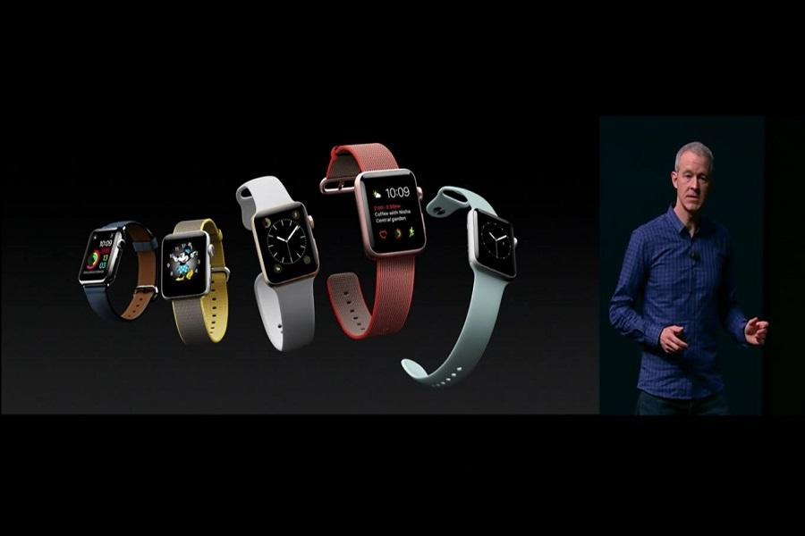 apple apresentou oficialmente o iwatch series 2 menos fios. Black Bedroom Furniture Sets. Home Design Ideas