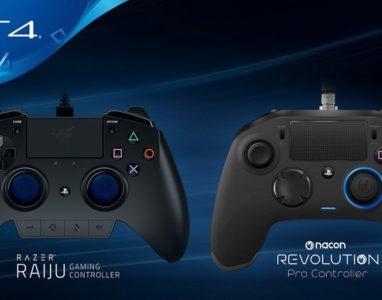Playstation 4 terá controladores para jogadores profissionais