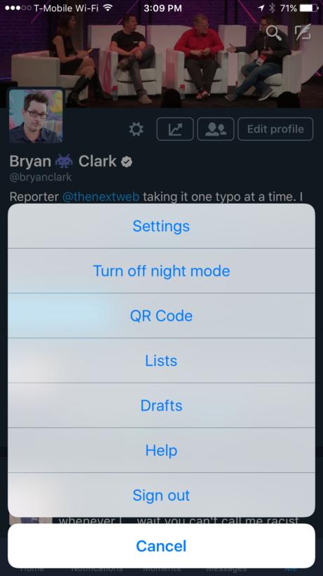 QR code- twitter
