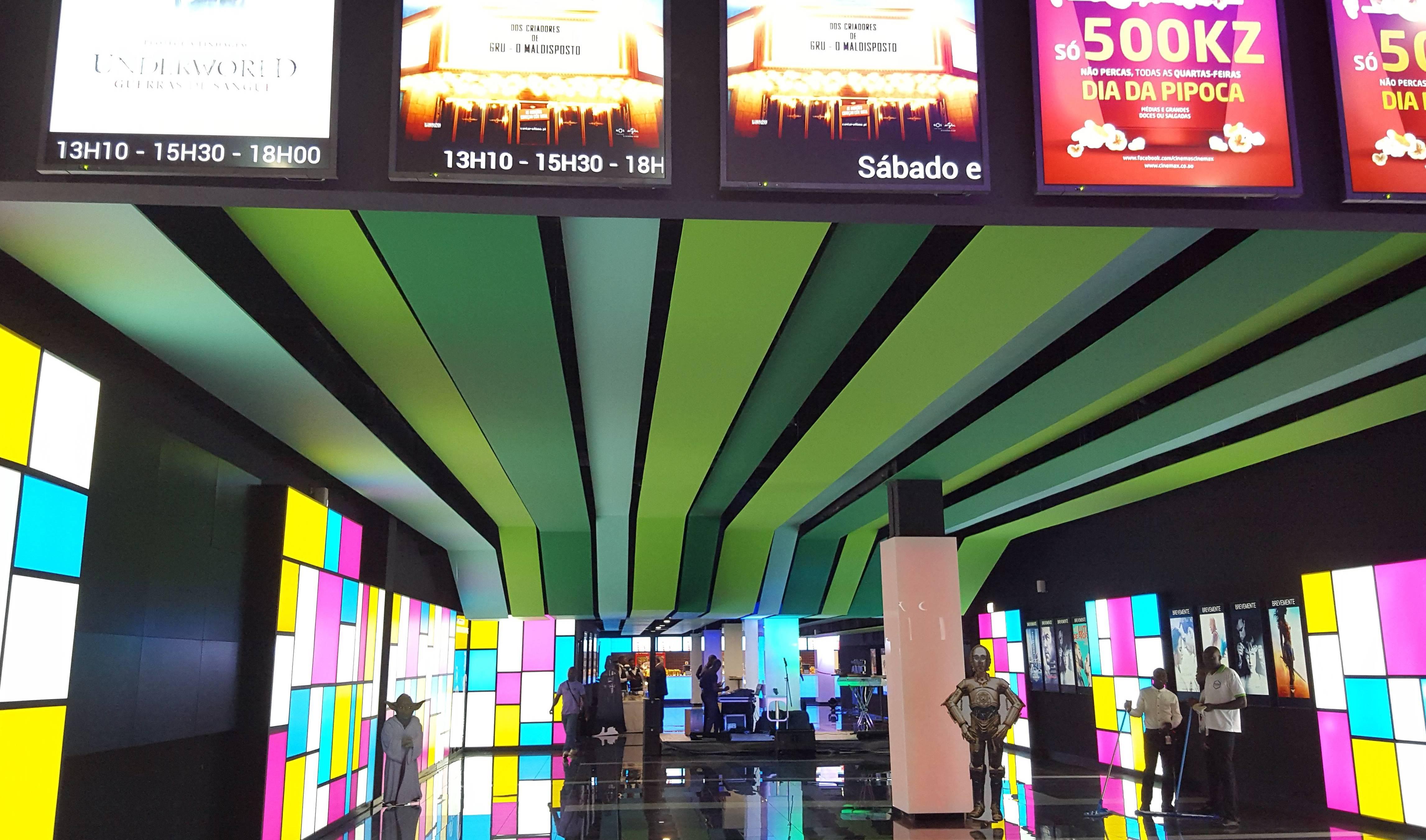 Resultado de imagem para Cinemax talatona