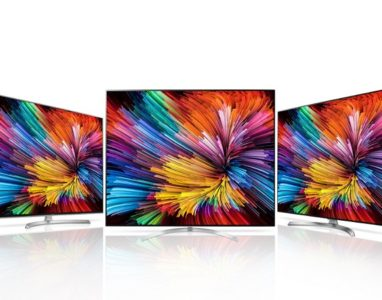 LG anuncia TV 4K com uma espessura impressionante