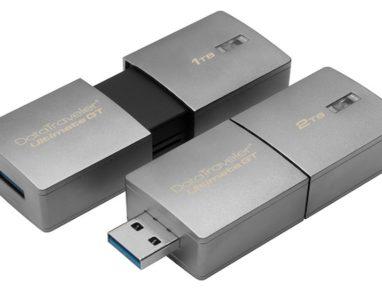 Kingston lança pendrive com capacidade de até 2 Terabytes