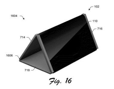 Nova patente da Microsoft revela telefone dobrável que se transforma em um tablet