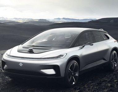 Faraday Future apresentou o seu primeiro carro eléctrico