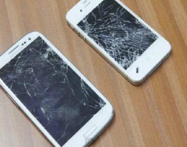 Saiba os perigos de usar um smartphone com ecrã rachado