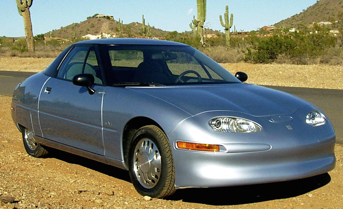 When General Motors Launched Its First Electric Car The Ev1 Or As It May Be Called Saturm Even Gm From 1996 1999