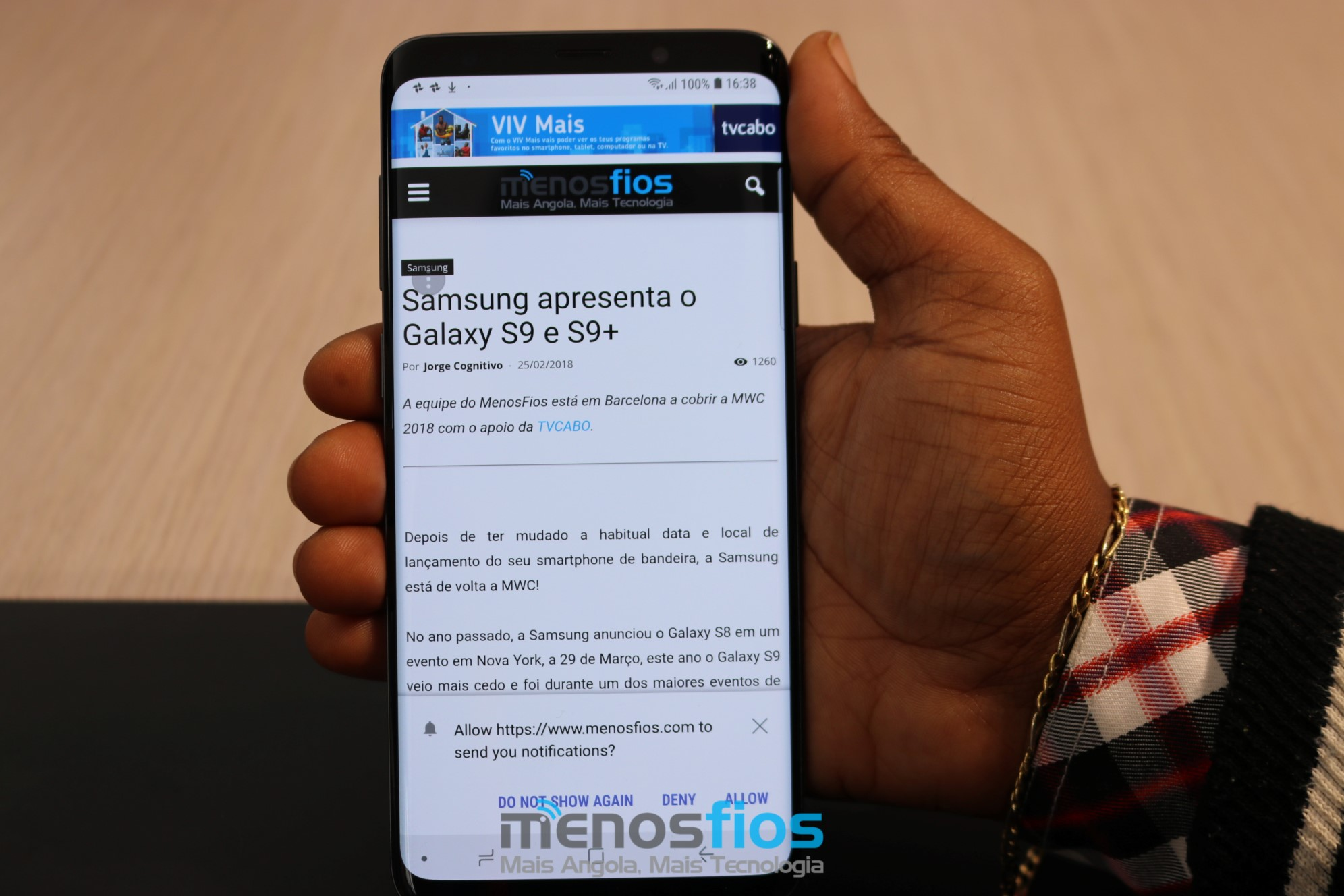 Samsung Galaxy S9 (5) | Less wires
