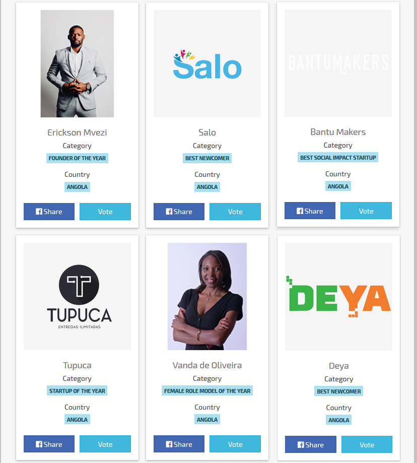 Southern Africa Startup Awards