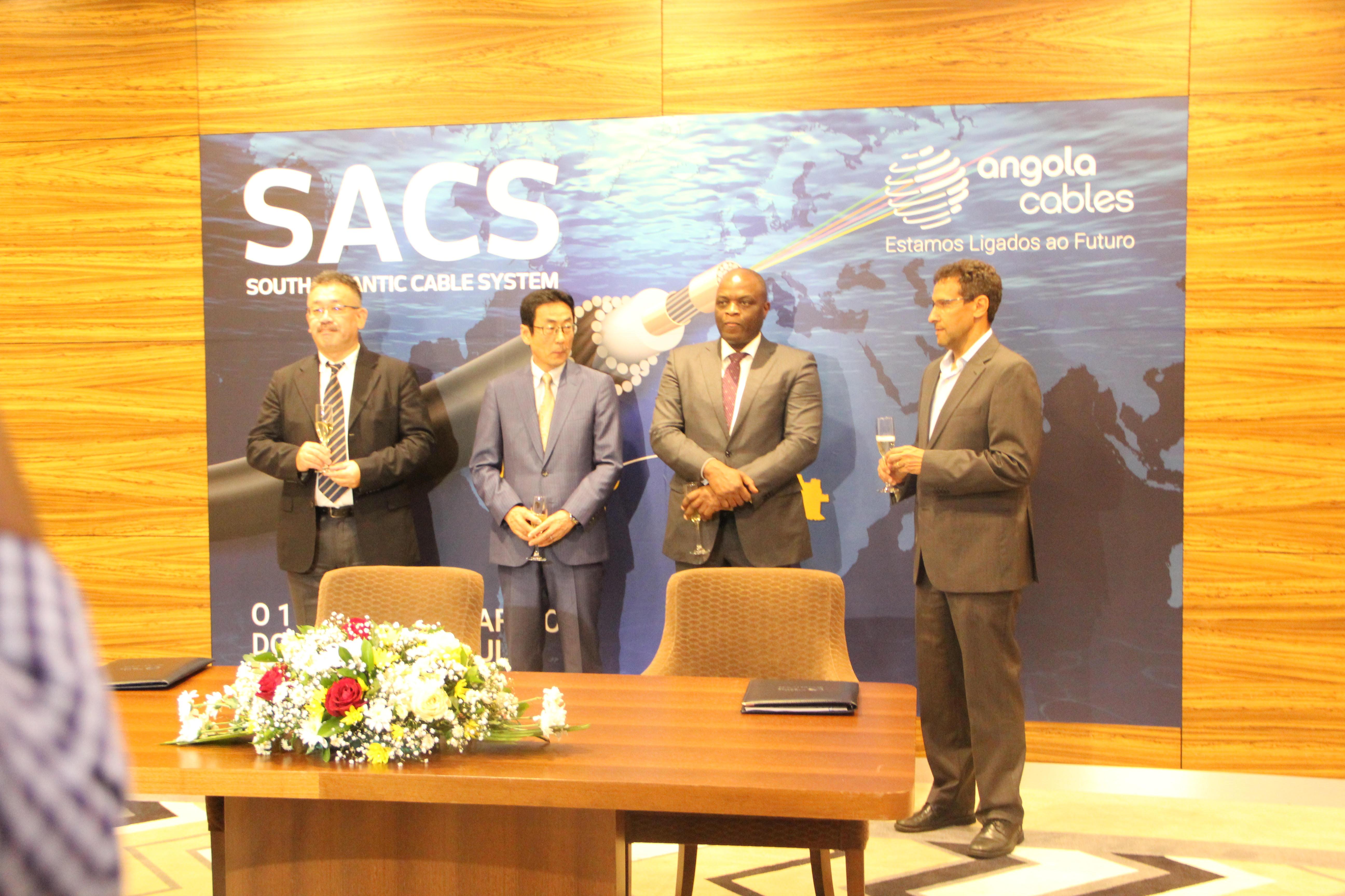... a data oficial do funcionamento do cabo submarino SACS, a Angola Cables  comemorou ontem 27 de Setembro de 2018, no Hotel Palmeiras, este grande  feito. 3d360ff55c