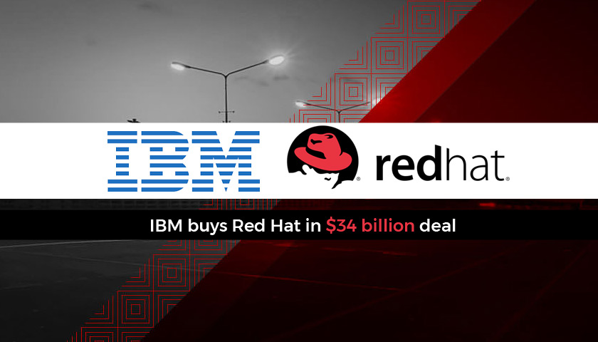 Ibm Agrees Astronomical Agreement To Buy Red Hat Less Wires