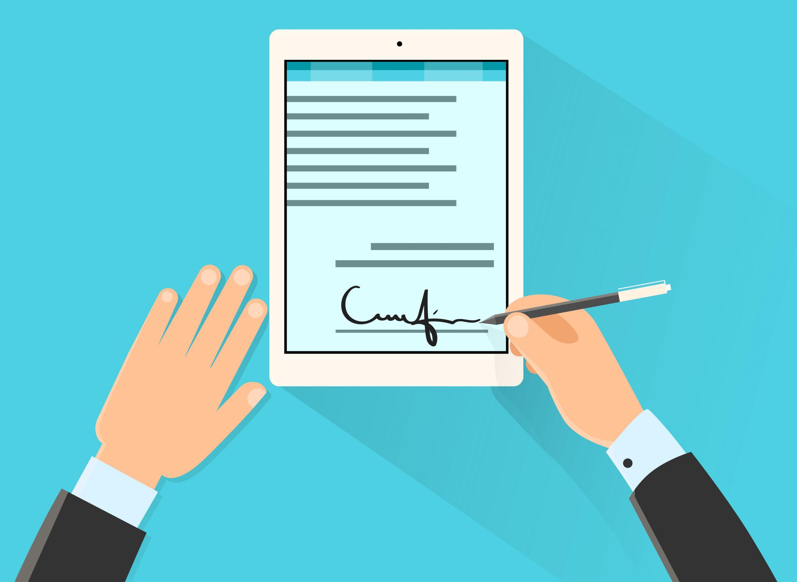 assinaturas eletrônicas